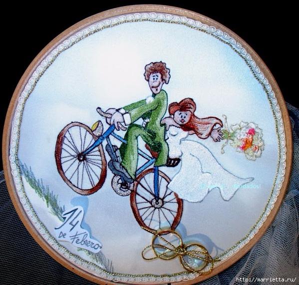 Вышиваем велосипед. Идеи со схемами (20) (599x571, 305Kb)