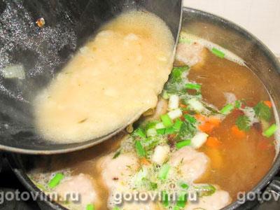 Суп фасолевый с фрикадельками, Шаг 05