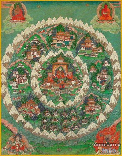 Шамбала расположена в ином измерении