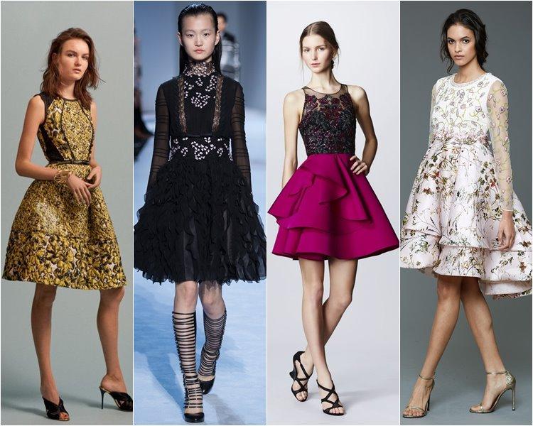 Стильные коктейльные платья 2017 новинки