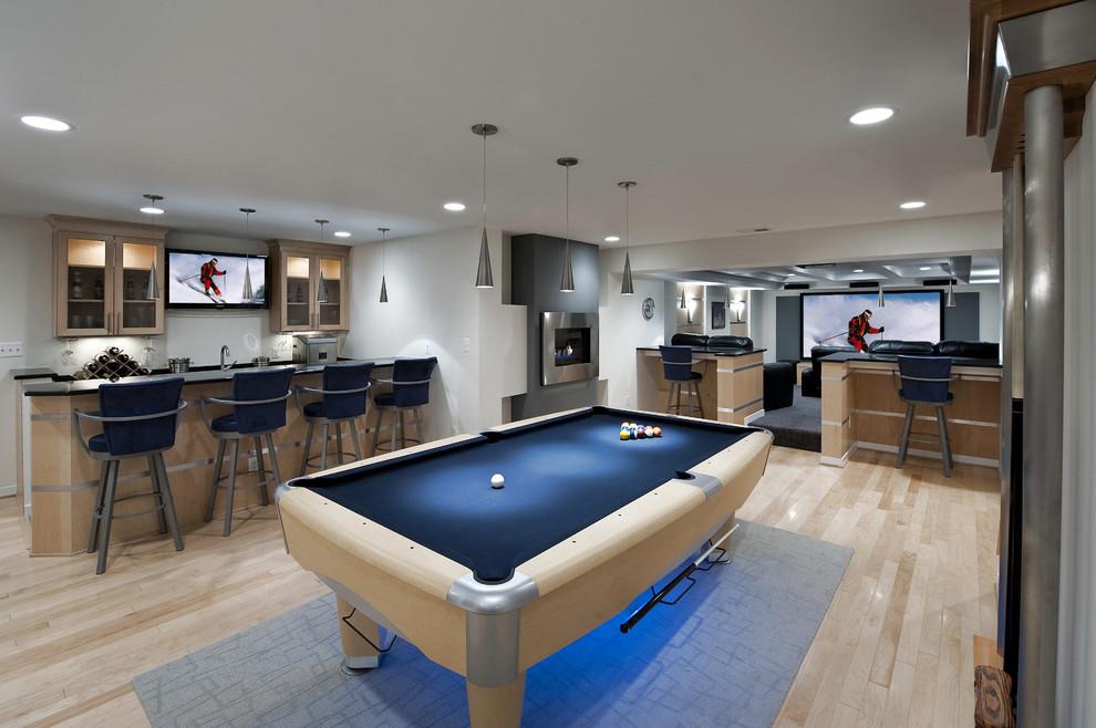 Исключительный мастер-класс: как превратить подвал в доме в замечательную игровую комнату?