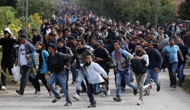 В Германии разозлились и начали стрелять по мигрантам