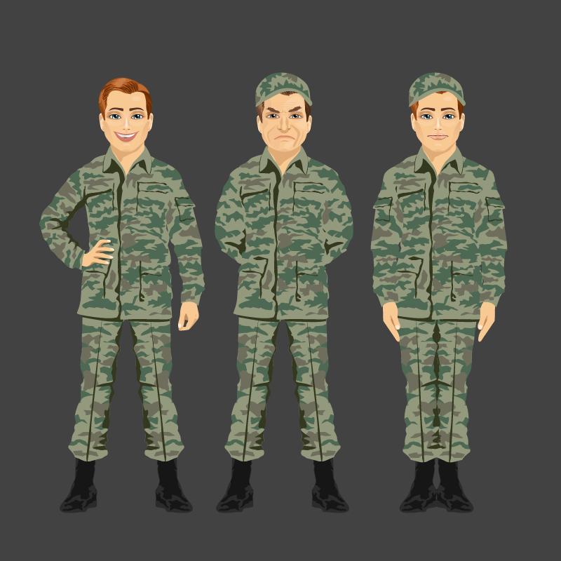 Анекдот про трёх лейтенантов иназначения наслужбу
