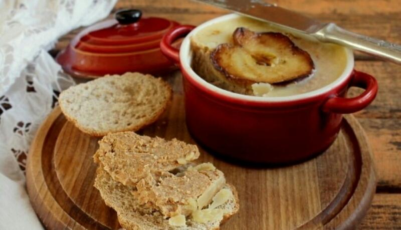 Потрясающе нежный свиной паштет с яблоками