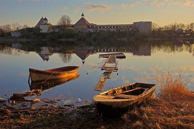 Старая Ладога - один из лучших русских пейзажей!