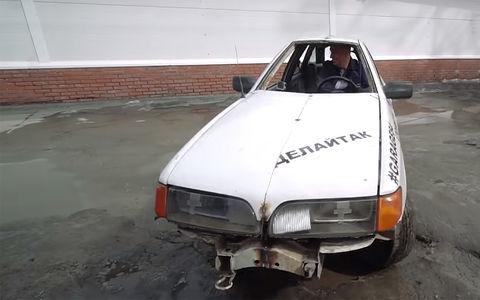В России сделали идеальный автомобиль для пробок