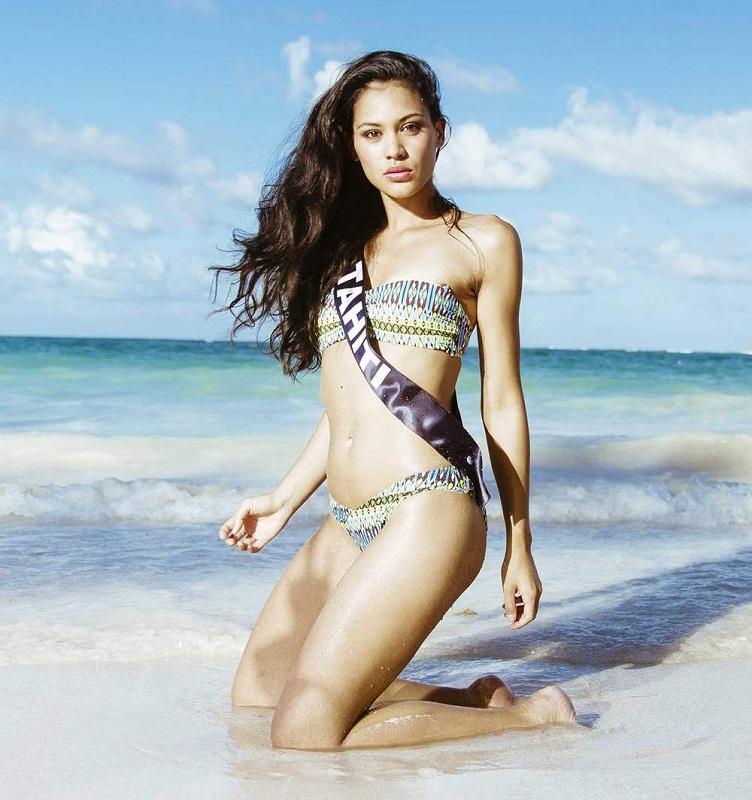 Мисс Вселенная 2015: Франция (Hinarere Taputu) фото