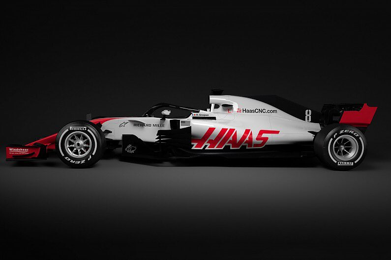 Haas первым представил болид…