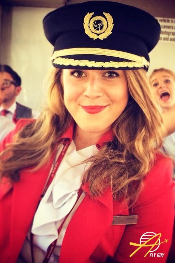 15. Великобритании - Virgin Atlantic люди, пилоты, стюардессы