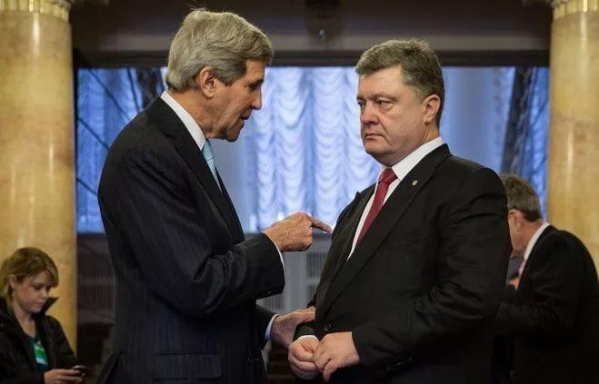 Порошенко «сравняли с плинтусом»: Джон Керри «раскусил» истинные намерения украинского президента
