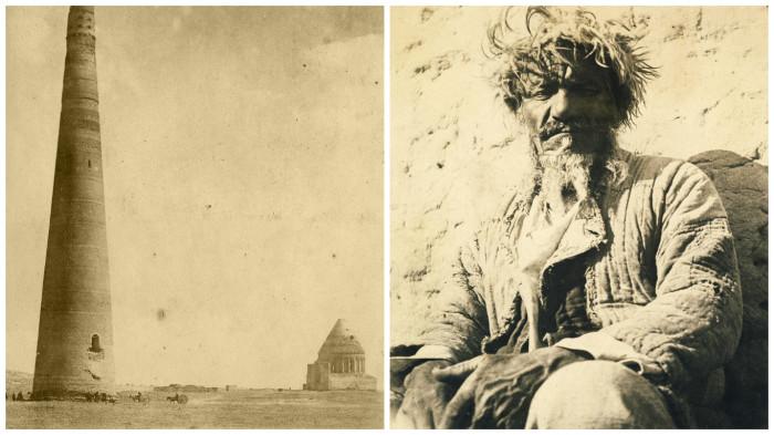 Фотографии, сделанные во время путешествия по Туркестану в начале XX века.