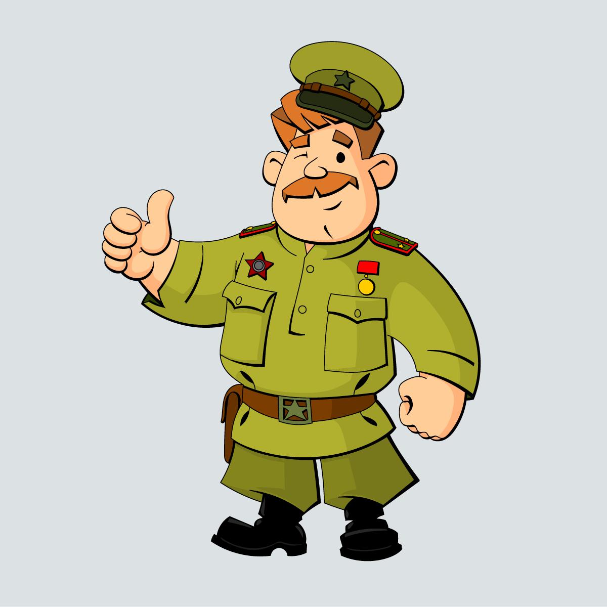 Анекдот про командира, сумевшего поднять боевой дух солдата