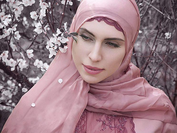 Как красиво завязать хиджаб — подборка фотоМК