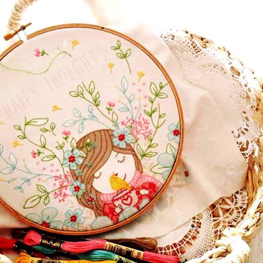 Сама нежность — прелестнейшая вышивка от Tamar Nahir Yanai