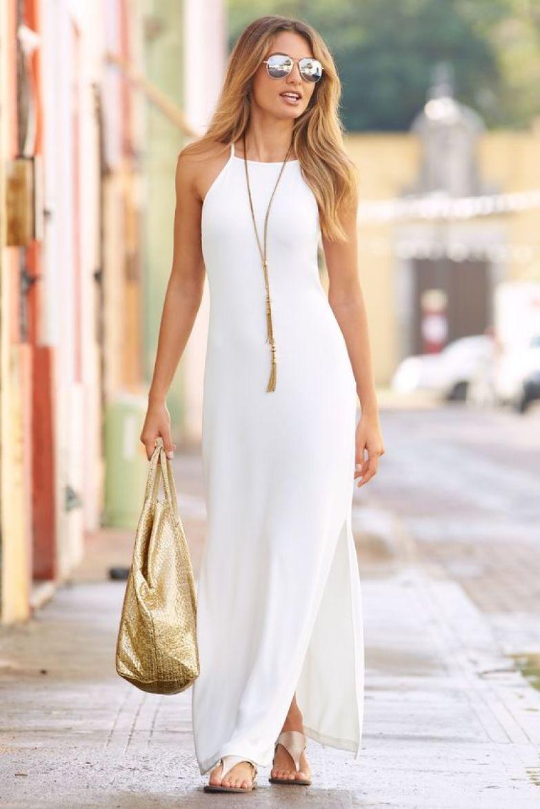 7fbc776b34a Невероятно женственные и очаровательные белоснежные платья летнего ...