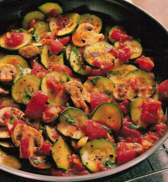 Горячие блюда из овощей рецепты с фото