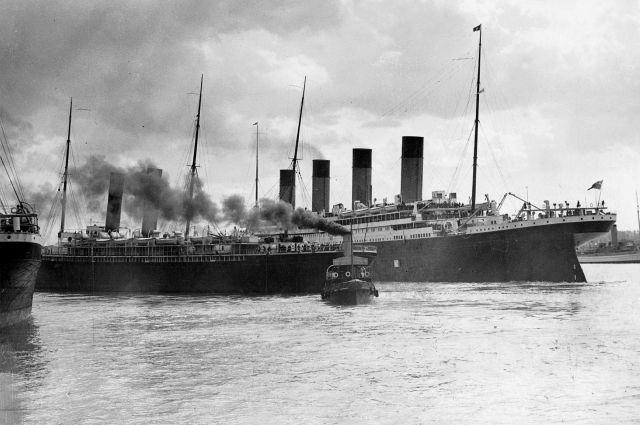 В Великобритании на аукционе продали меню первого обеда на «Титанике»