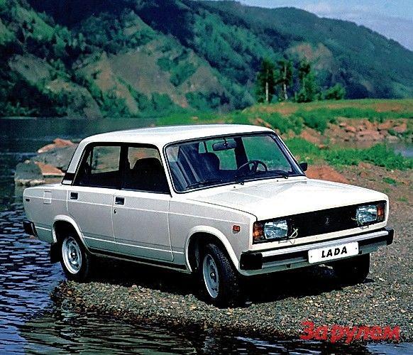 Старт производства ВАЗ-2105: 1,3 л, 69 л.с., первые в СССР блок-фары. Испытания дизельного ВАЗ-21055.