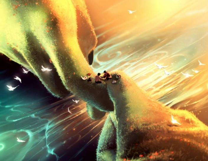 Сирил Роландо психологическое решение в иллюстрациях сюрреалистического восприятия