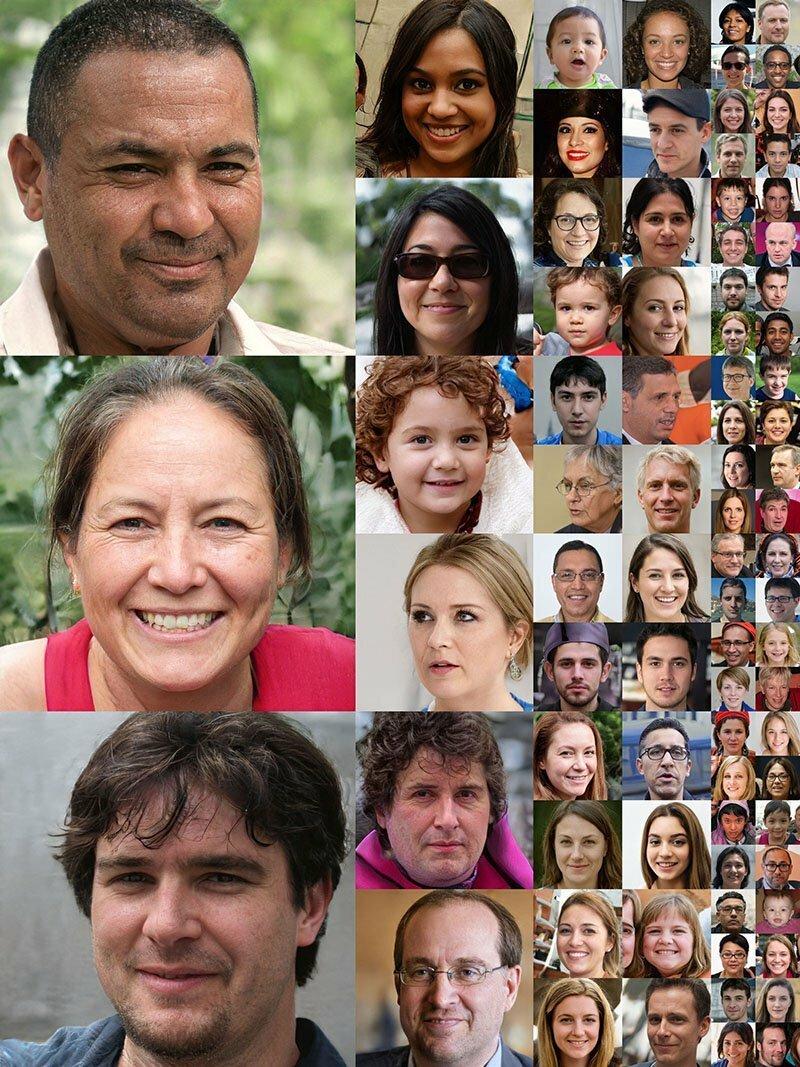 Эти портреты были сделаны искусственным интеллектом: никто из этих людей не существует наука, технологии, факты