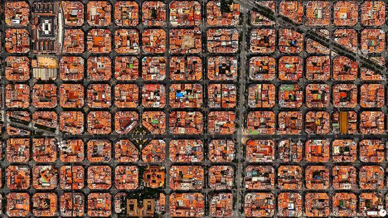 30 удивительных спутниковых фото, которые изменят ваш взгляд на мир