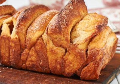 Сладкий коричный хлеб