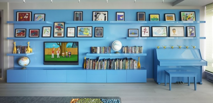 Пианино   в  цвет стены