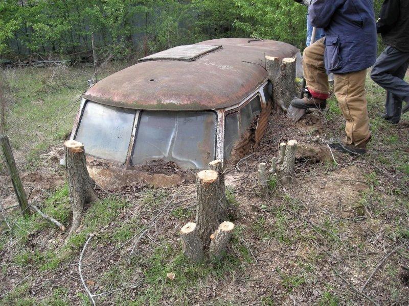 Хиппи-бас, простоявший тридцать лет по пояс в земле