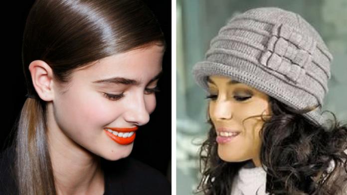 6 стильных причесок, которым невозможно испортить шапкой