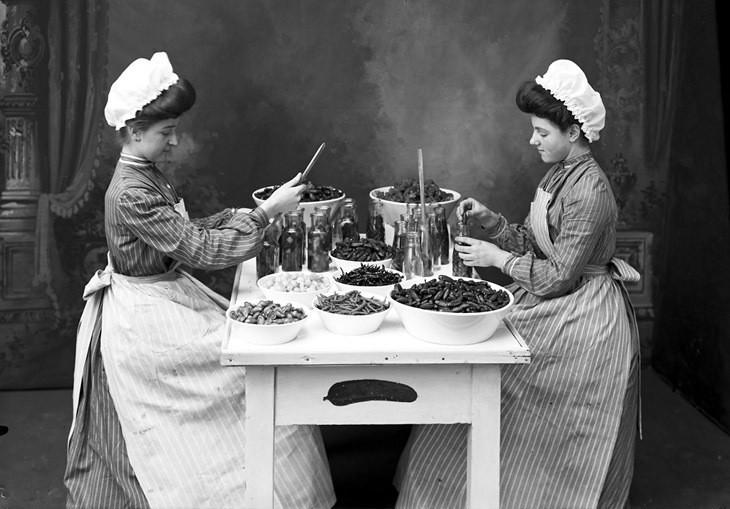 Кулинарный пятничный авось Дореволюционная заготовка огурцов 1909 года