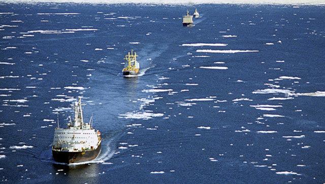 Борзота - второе счастье: Береговая охрана Пиндосии требует у России Севморпуть