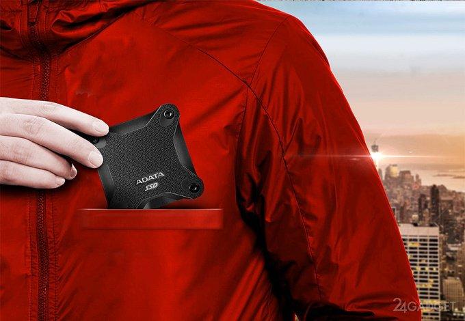 ADATA SD600 — карманный SSD с памятью 3D TLC NAND