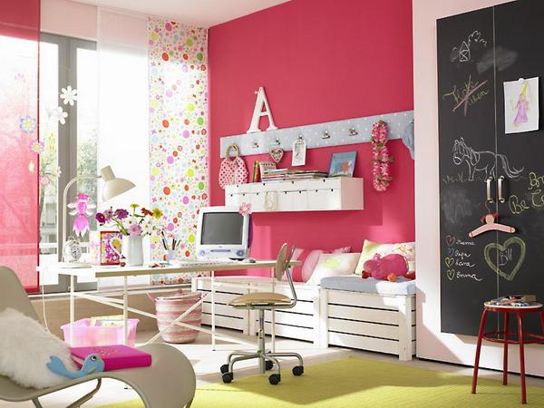 Где живет радость: история обновления комнаты для девочки 8-9 лет