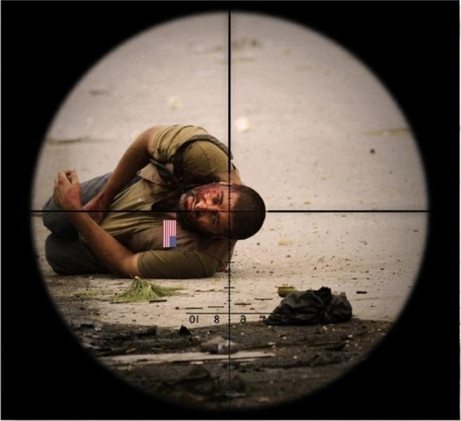США атаковали ХОМС. Небольшая группа бойцов с авиацией легко отразила удар