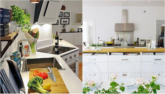 Идеи вашего дома: 30 изысканных идей для оформления кухни в белых тонах