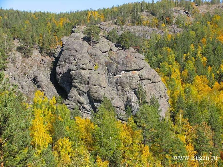 Петроглиф на башкирской скал…