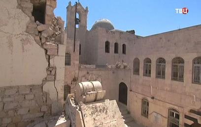 В Алеппо восстанавливают древний армянский храм