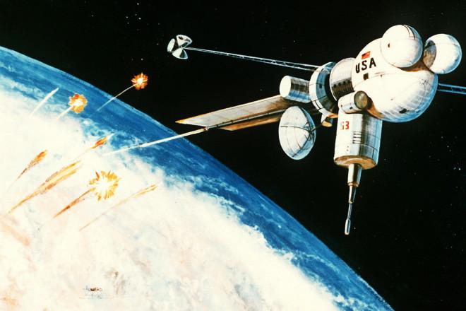 Пентагон начал выводить на орбиту спутники Судного дня