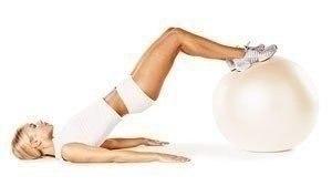 Отличные тренировки для стройного тела с фитболом!
