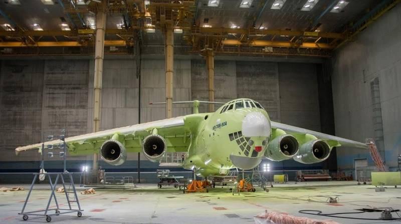 Проверили вибрацией. Ил-78М-90А успешно прошел наземные частотные испытания