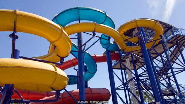 Leanyer water slide and swimming pool park, Darwin,Northern Territory,Australia
