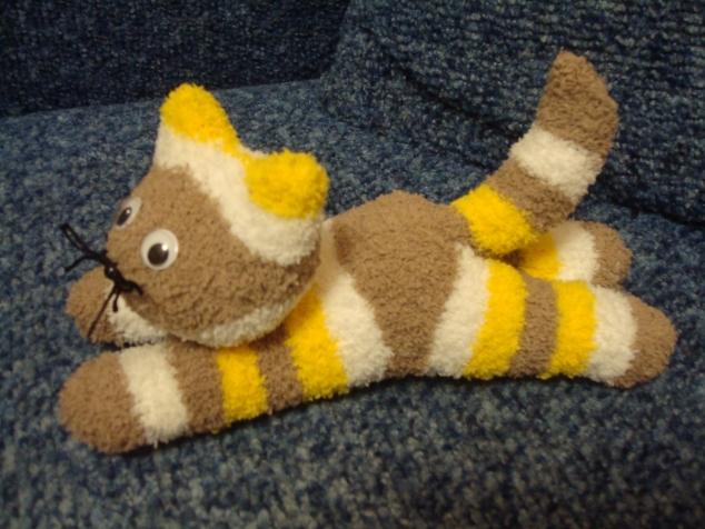Милые котики из носков