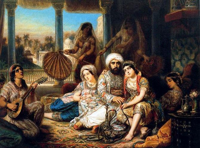 История парфюмерии – арабская парфюмерия