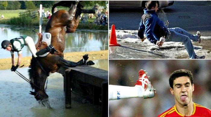 15 нелепых провалов, которые случайно попали в объектив фотокамеры
