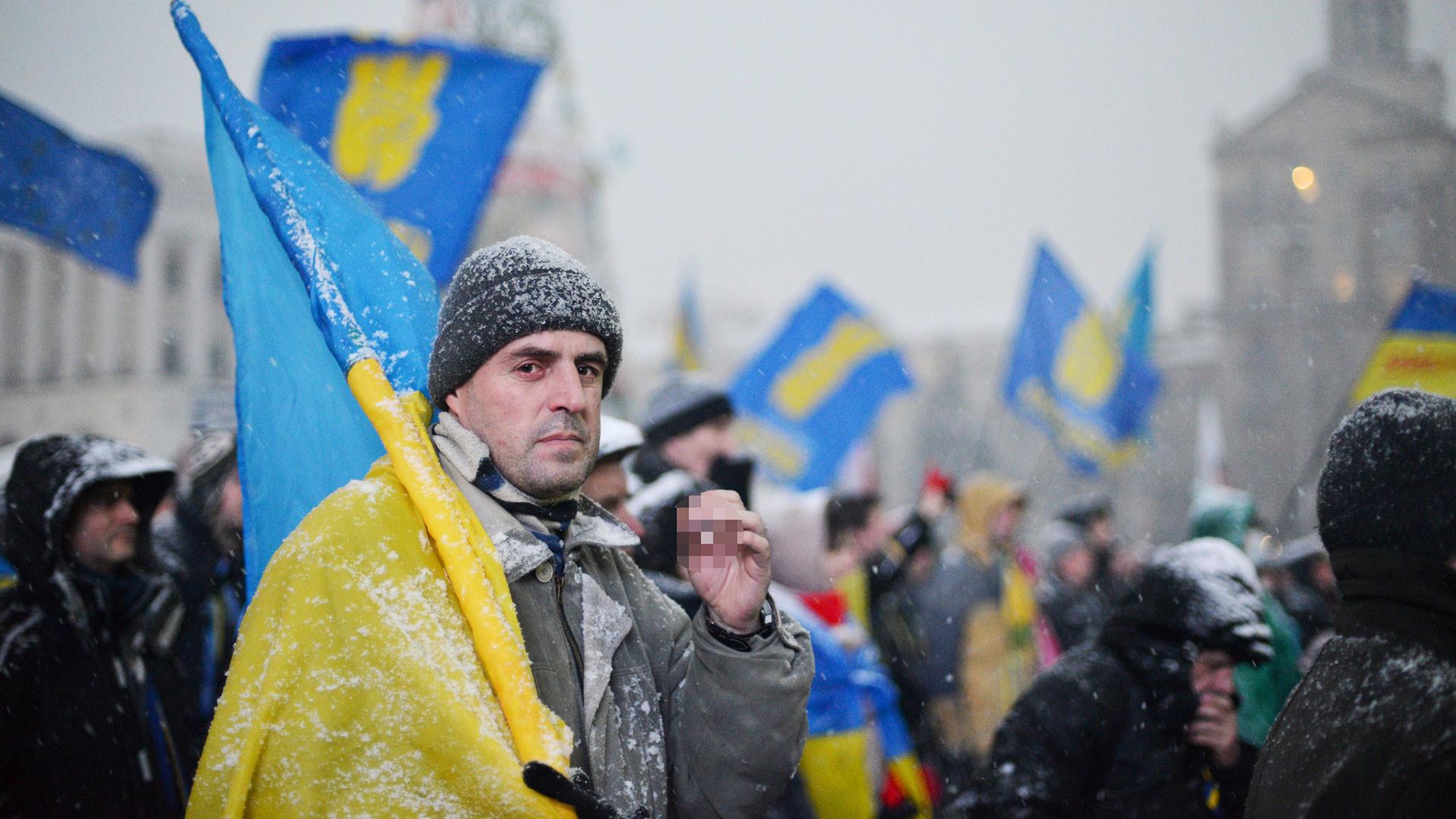 Украинская независимость переплюнула голодомор и Великую отечественную войну