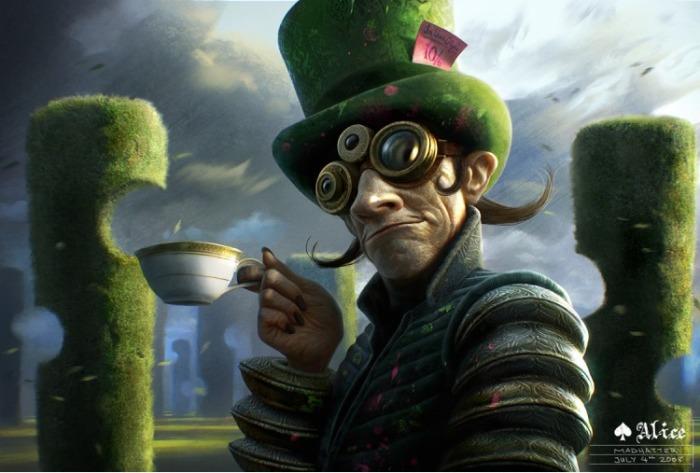 Алиса в стране чудес: Безумный Шляпочник. Автор: Michael Kutsche.
