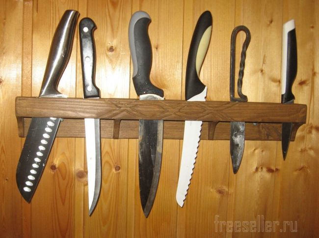 Органайзер для кухонных ножей