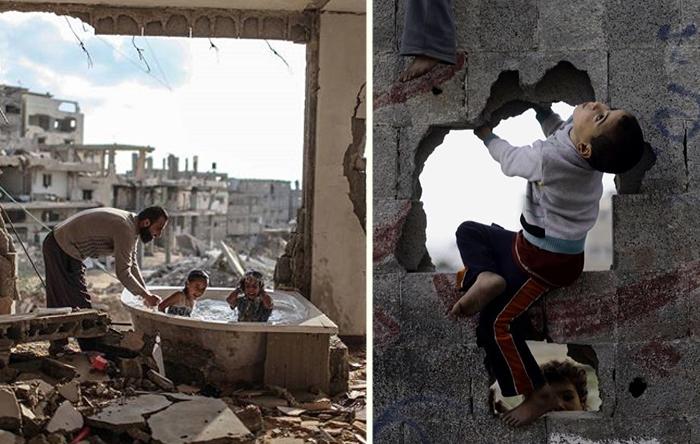 15 трогательных фотографий детей из зоны конфликта в секторе Газа