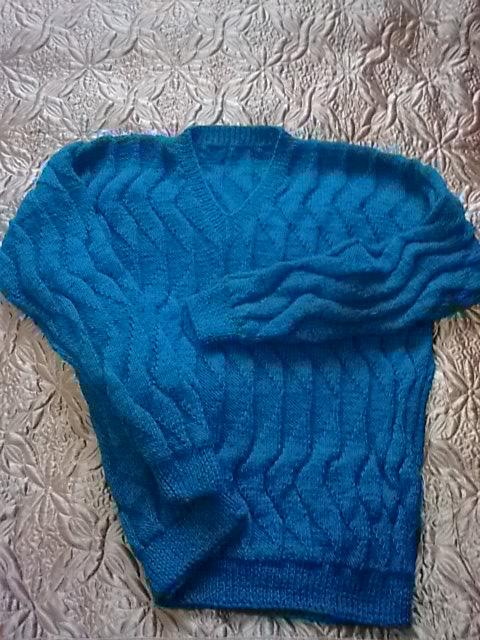 подарок милому (пуловер)