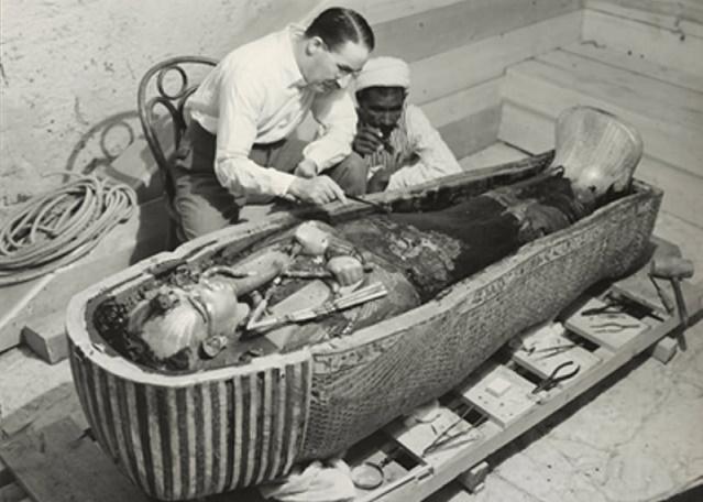 Вскрытие гробницы Тутанхамон…